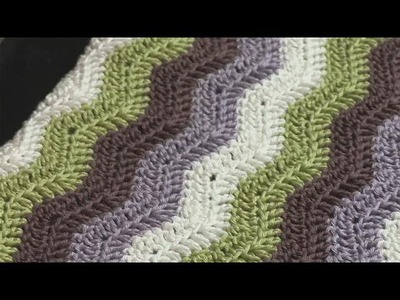 Step By Step Guide To Chevron Patterns In Crochet