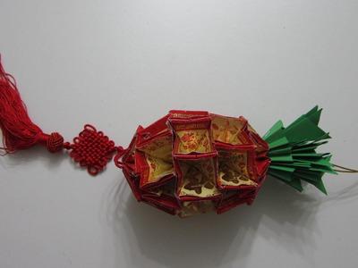 TUTORIAL - Chinese New Year Craft - the Pineapple