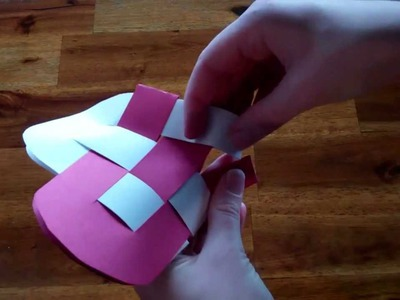 Valentine's Day Craft Idea - How to make a Heart Basket