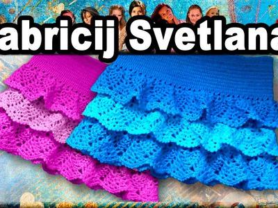 ☆Юбка, вязание крючком для начинающих, crochet.
