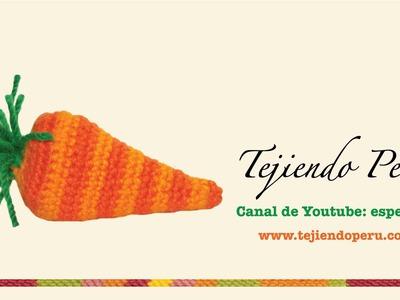 Zanahorias de Pascua (easter carrots) tejidas en crochet  (amigurumi)