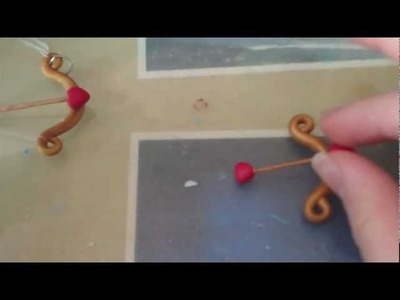 14 Days of Valentine's Day Crafts - Day 9: Bow & Arrow Tutorial