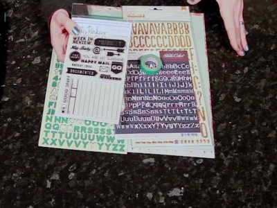 Best of Both Worlds Scrapbooking Kit :: January 2013