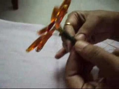 Creative crafts part 3-how to make a kundan flower