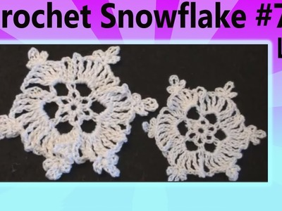 Crochet SnowFlake Christmas - Left Hand Crochet Geek