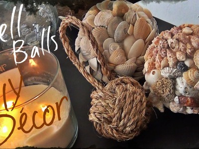 DIY Décor ♥ Shell Ball
