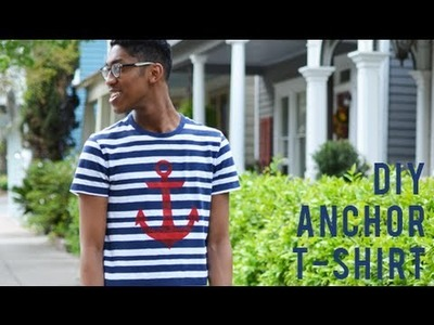 DIY Easy Screen Printing: Anchor T-Shirt