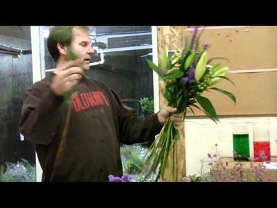 DIY - European hand tied bouquet - lwflowers.com