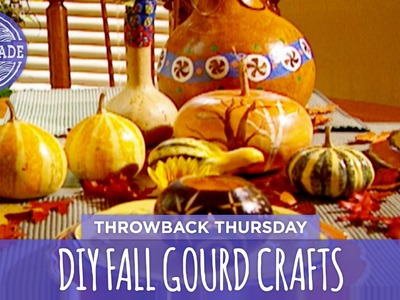 DIY Fall Gourd Crafts - Throwback Thursday - HGTV Handmade