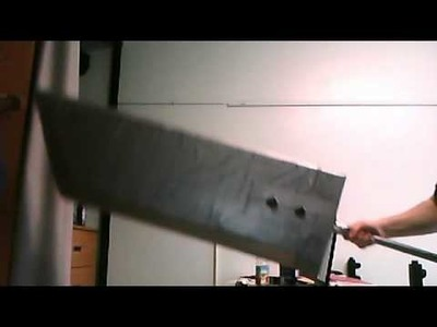 DIY Foam Buster Sword (my V2)