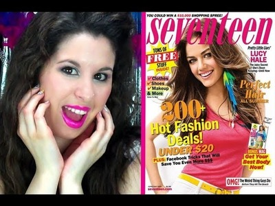 DIY: Fun Fashion Magazine Nails!