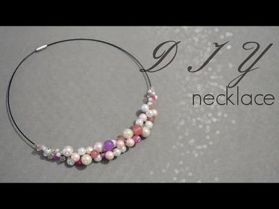 DIY : pastel necklace