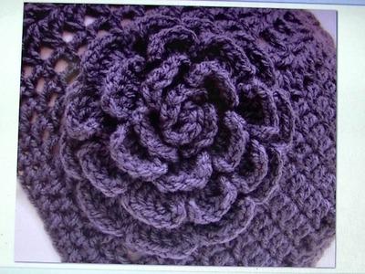 Easy Crochet Rose - FREE WRITTEN PATTERN