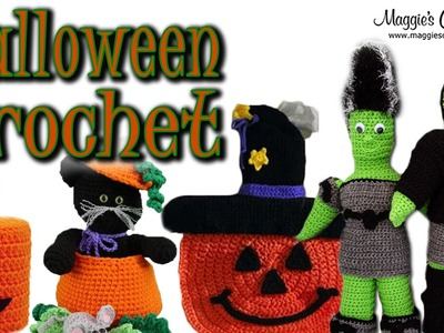 Halloween Crochet Patterns at Maggie's Crochet