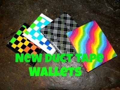 January Duct Tape Wallets And Other Crafts