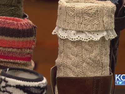 KCL - How to make DIY Boot Socks