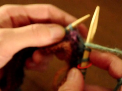 Knitting a Mitered Square in Mochi Plus