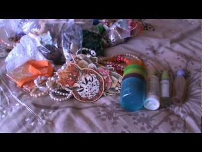 Last of my Goodwill Haul Scrapbooking crafty items and Ebay!!