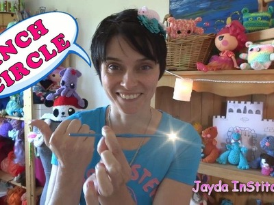 Learn to Crochet: The Basics - CINCH or 'MAGIC' CIRCLE - Super Mini Tutorial