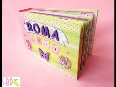 Mini album with binding From start to finish - ENG Series