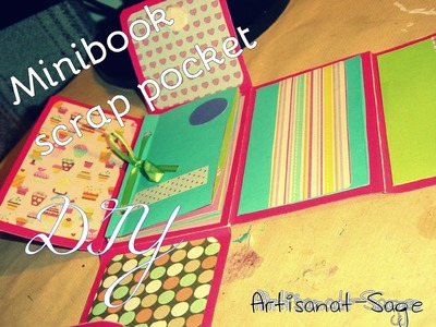 Minibook scrap pocket.DIY (scrapbook)