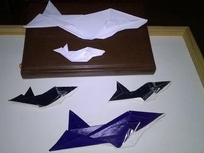 Origami - A baleia (passo-a-passo). The whale (step by step) - Vamos fazer juntos?