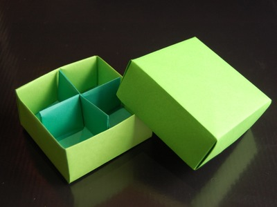 Origami  Box (traditional model)