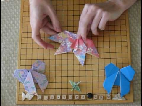Origami Butterfly Instructions