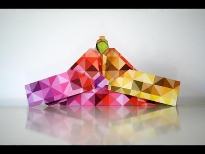 Origami tutorial - Empress by Momotani Yoshihide