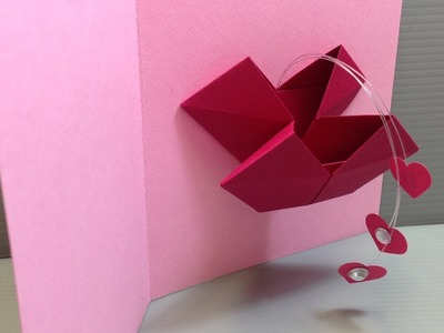 Origami Valentine Popping Heart Card - Make Your Own