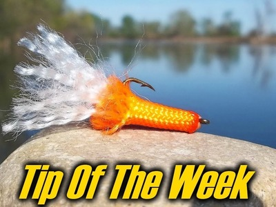 """Paracord Fishing Lure - """"Tip Of The Week"""" E37"""