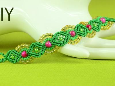 Provence Flower Bracelet Tutorial ✿