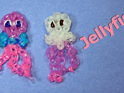 Rainbow Loom: JELLYFISH Charm: How to Design. Tutorial (DIY Mommy)