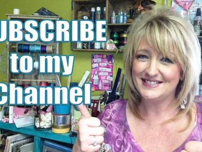 Subscribe - Upcycle, DIY, Jewelry Making and Crafts - Linda Peterson Creative Life TV