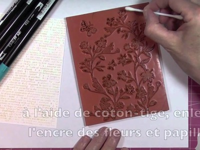 TT: Stamp&Emboss and Stamping with Markers (Eng-Français)
