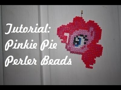 TUTORIAL: Pinkie Pie FiM - Perler Beads DIY