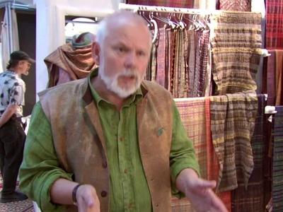 Weaver Randall Darwall talks about the handmade vs. industrialized weaving