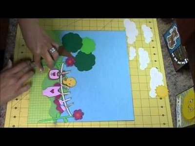Baby Steps & SKDT Scrapbook Layout, Episode 221