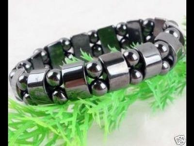 Black Magnetic Hematite Beads men's & women's Bracelet Review