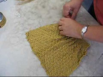 Blocking knit 2