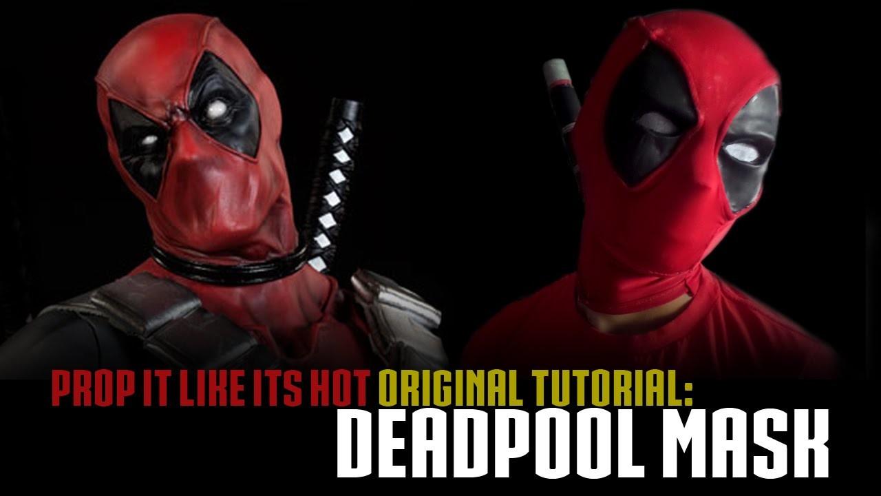 Deadpool Mask Tutorial