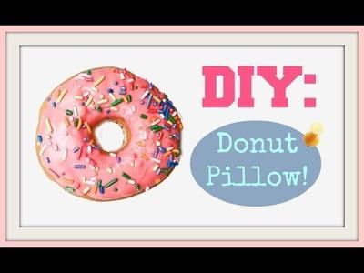 DIY: DONUT PILLOW!
