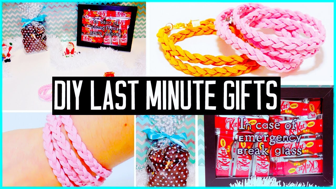 DIY last minute gift ideas! For boyfriend, parents, BFF.   Christmas.Birthdays!