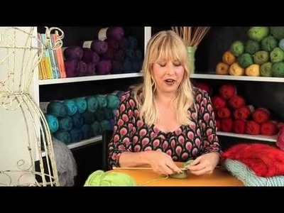 How to Knit Lace with Decreases - Stitch 'N Bitch TV