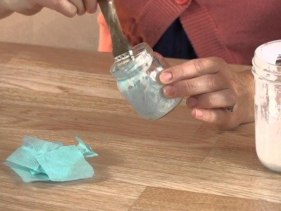 How to Make a Candle Votive With a Baby Food Jar & Tissue : Crafts, Candles & More