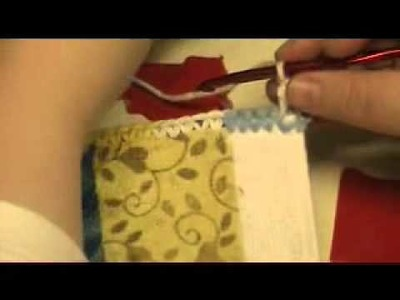 How to Make a Crocheted Top Handtowel