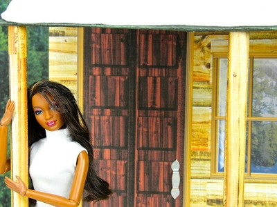 How to Make a Dollhouse : Cabin - Doll Crafts