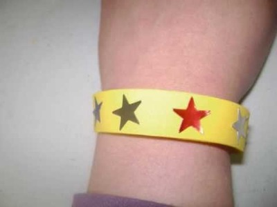 How to make a fomi wristband - EP