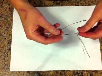 Mini Hangers made from wire