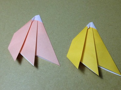 Origami Banana Instructions . Easy for Children